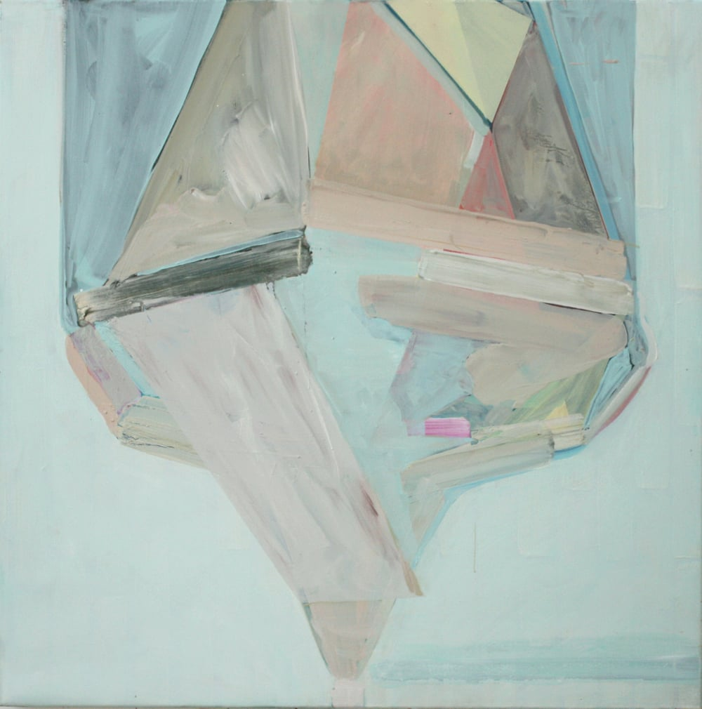 'Squirm' 2013 Oil on canvas 70 x 70 cm