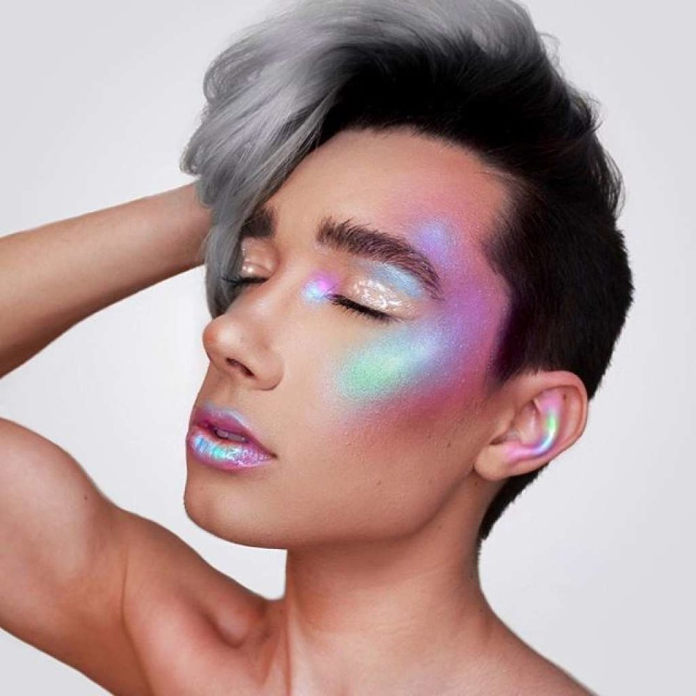 In addition to possessing amazing makeup skills, this guy is the first male model and ambassador for Covergirl. He has certainly accomplished more than most other 17-year-olds.