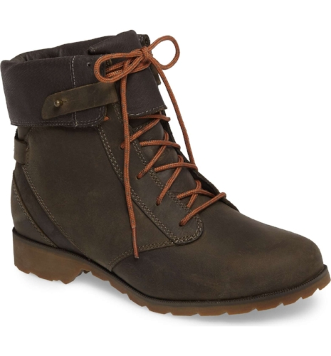 Teva 'De La Vina' Waterproof Lace-Up Boot $140 on Nordstrom
