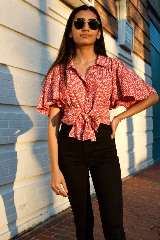 Model: Medha Shah  Photographer: Jessica Varner
