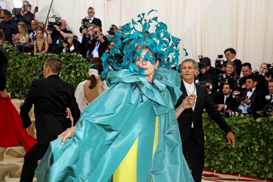 Frances McDormand in Valentino Haute Couture