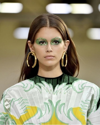 Kaia Gerber in Pat McGrath