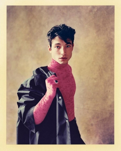 Also Ezra Miller for GQ