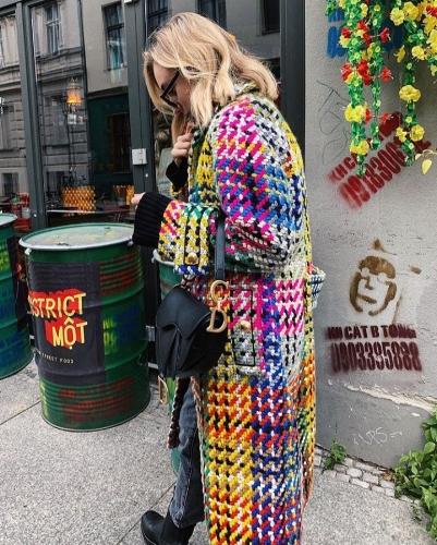 Sonia Lyson in Escada