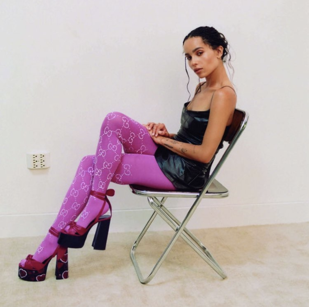Zoë Kravitz for ELLE UK