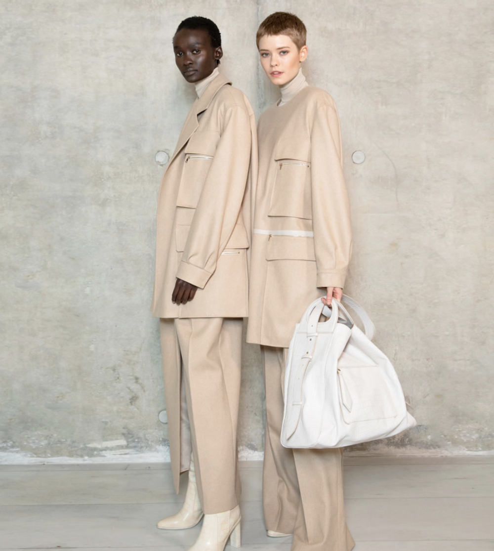 Aliet Sarah and Maike Inga for Max Mara