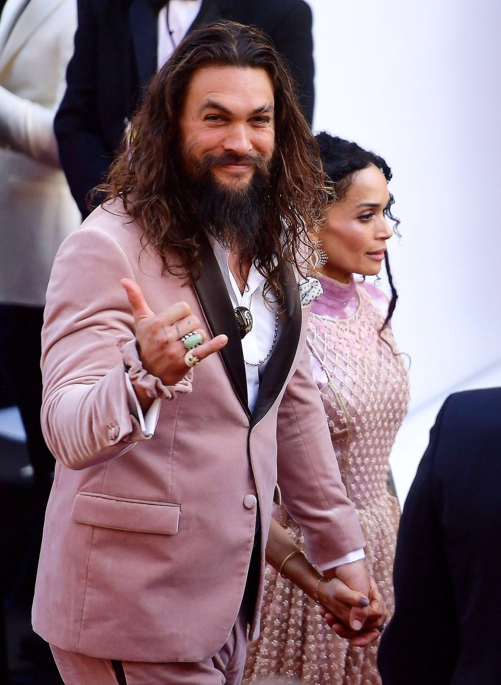 Jason Mamoa in Fendi