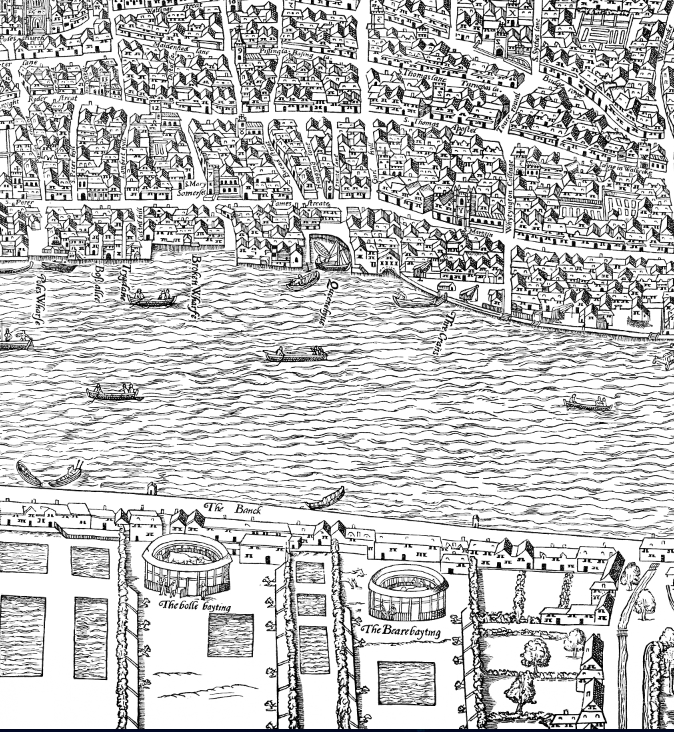 Clickable map of Renaissance London