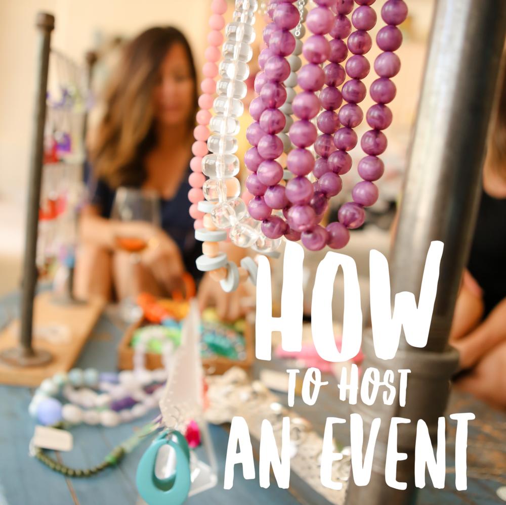 Hosting an Event