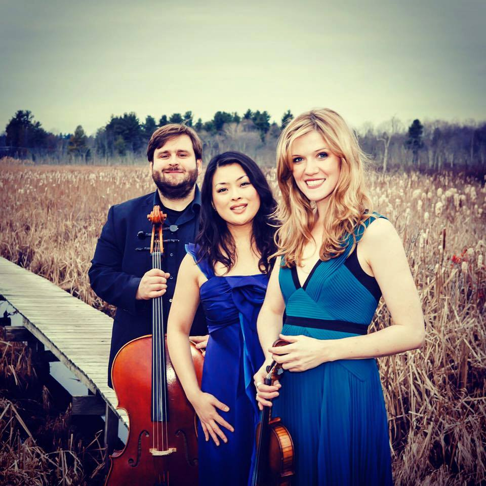 Mikhail Veselov (cello), Eri Nakamura (piano), Anna Williams (violin)