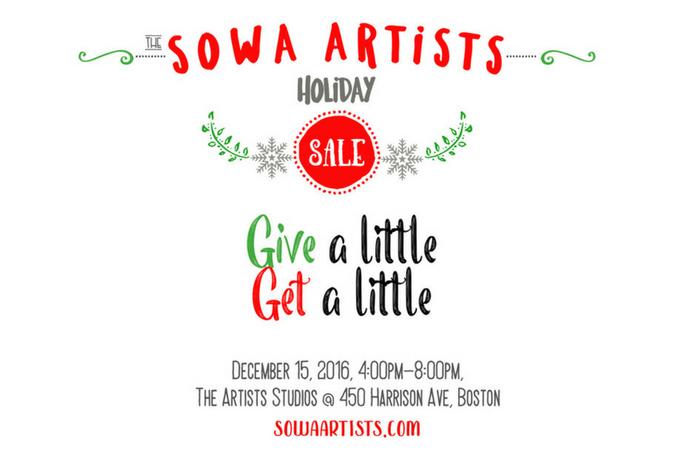 Give a Little, Get a Litte — SoWa Boston