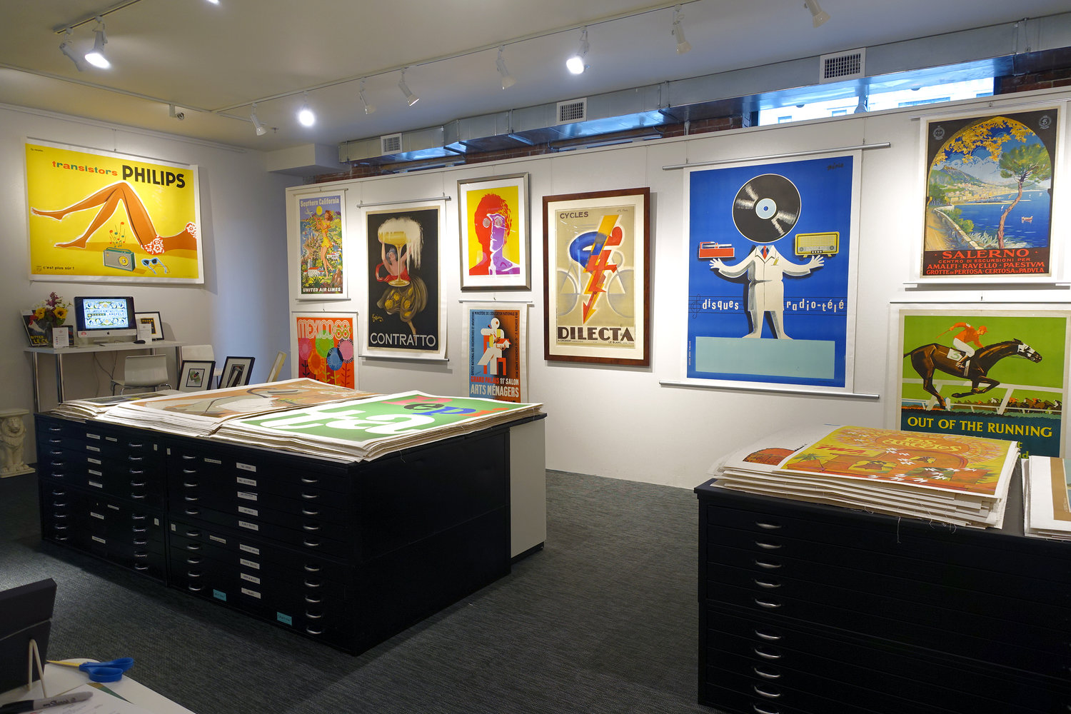 Decorating With Posters: New Collector\'s Evening — SoWa Boston