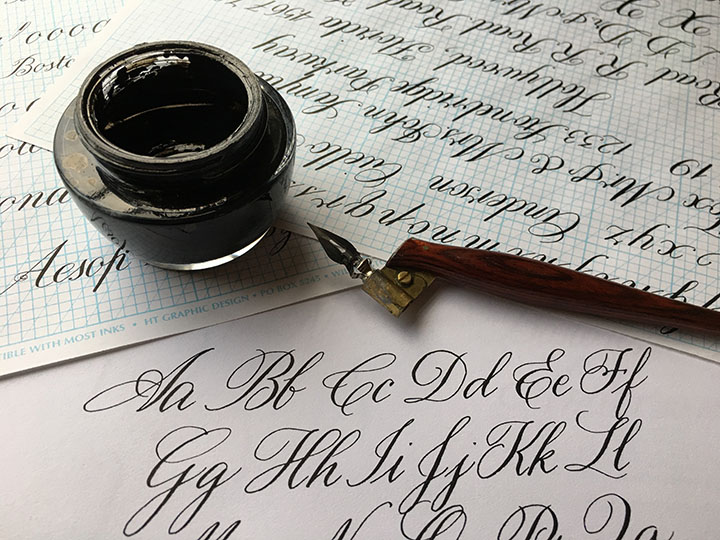 copperplate calligraphy for beginners with emily gallardo sowa boston