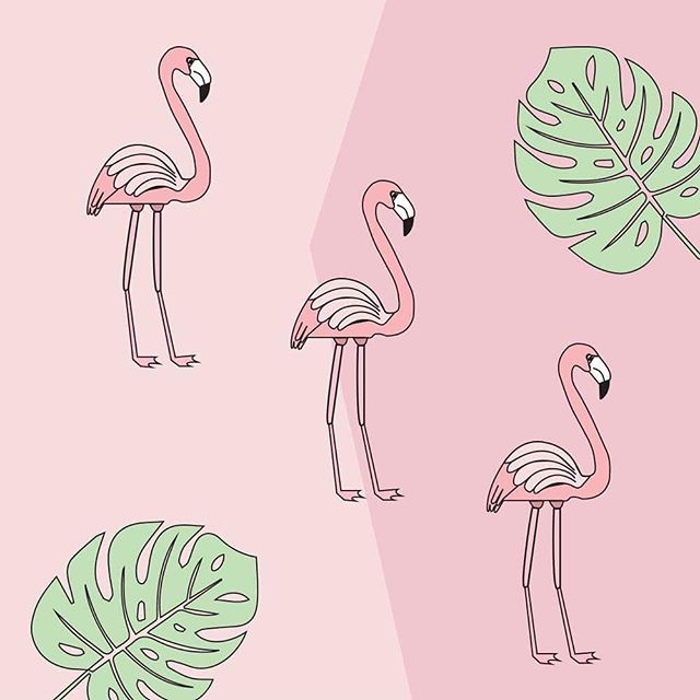 3 Flamingos are better than 1 ( 🔗 for print in bio) #needaflamingoemoji #graphicdesign #vectorart #vectorillustration #illustrator #chileanflamingos #adobe #tropicalleaves #popart #minimalism #pink #shadesofpink #society6 #modernart #createcoolshit #artprints