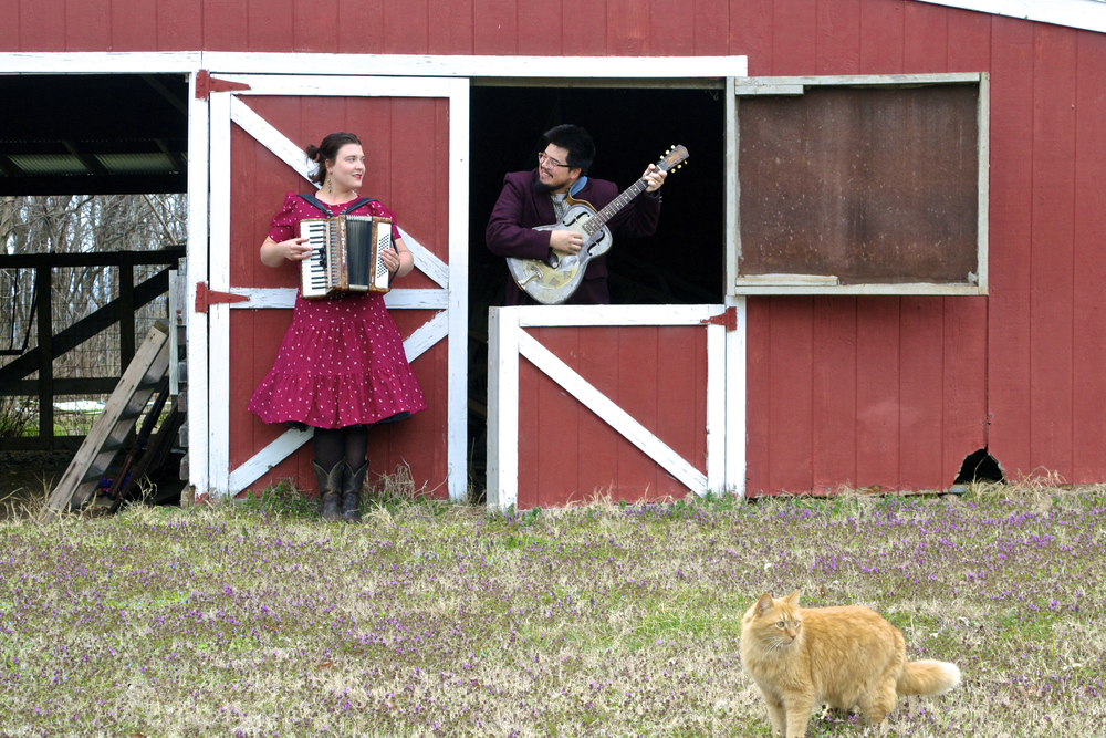 The Lark and the Loon is husband/wife songwriting duo Jeff Rolfzen and Rocky Steen-Rolfzen.