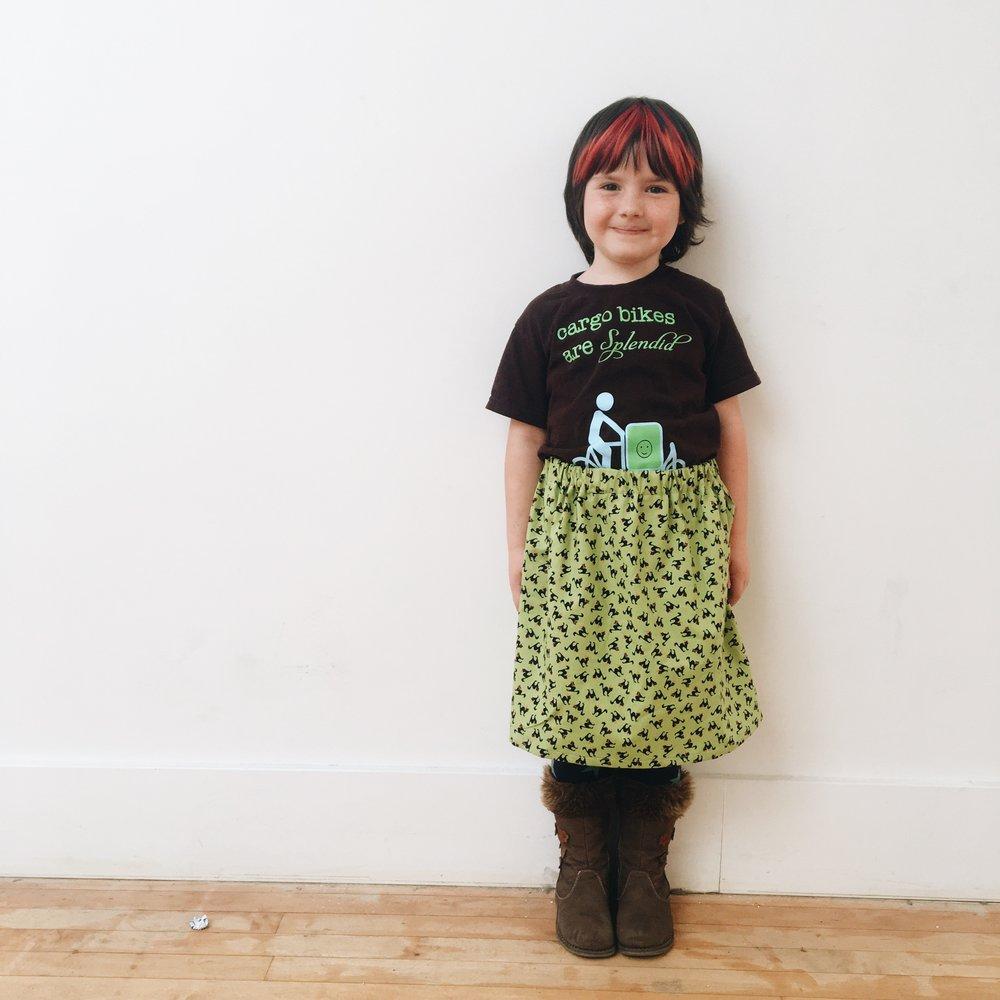 Ena's skirt