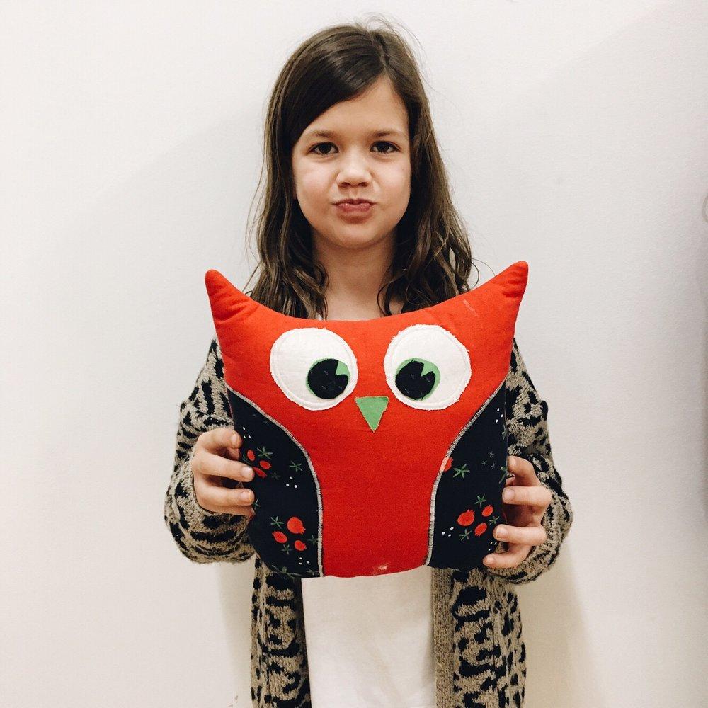 Ruby's owl