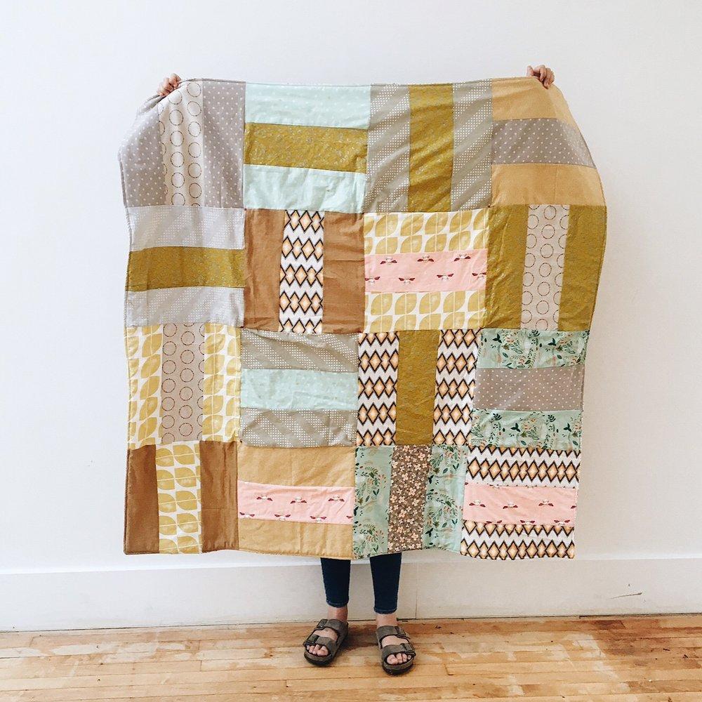 Anna's patchwork quilt