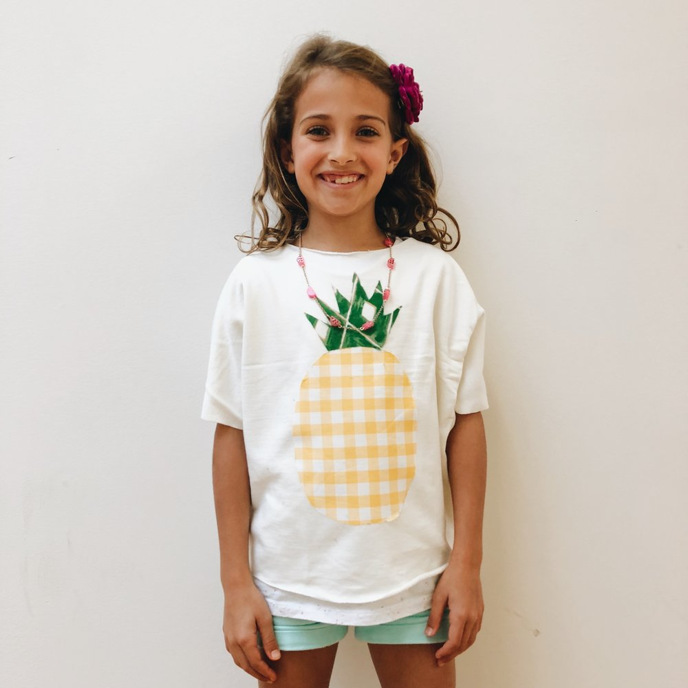 Great's pineapple appliqué sweatshirt