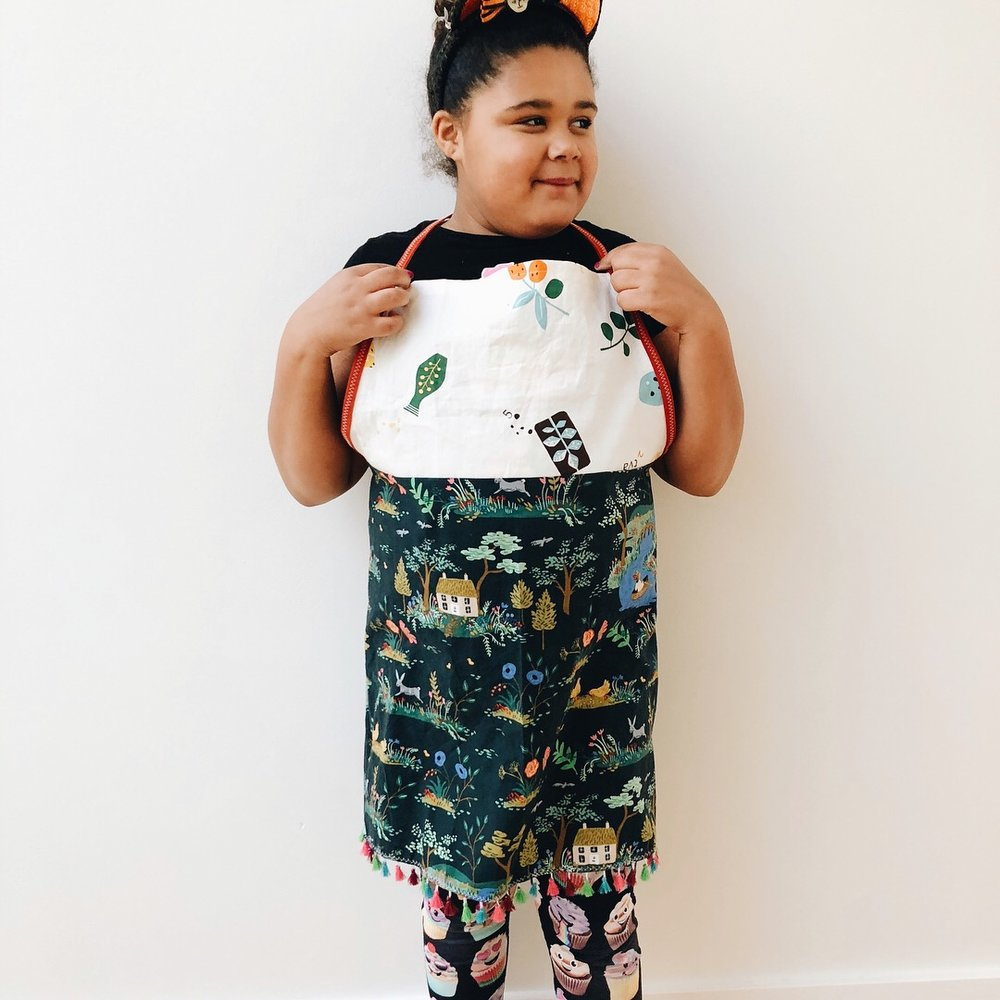 Octavia's apron