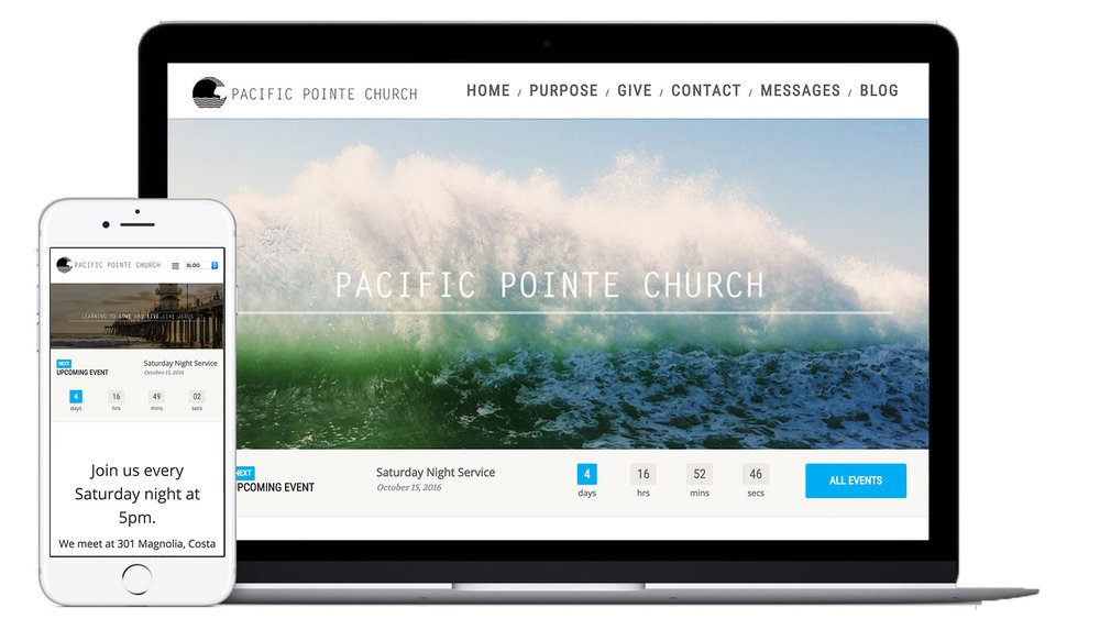 Pacific Pointe Responsive Website