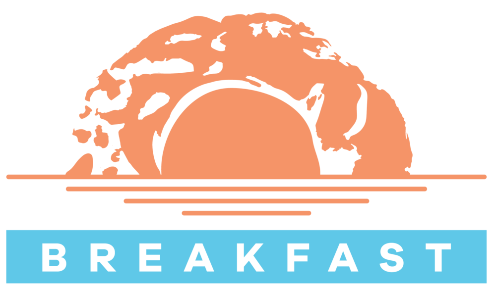 the 4our design breakfast identity logo full color