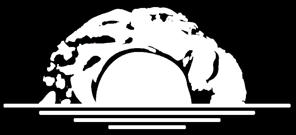 the 4our design breakfast identity logo white icon