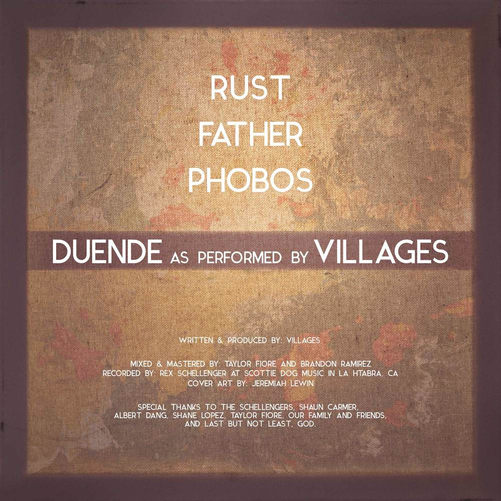 Villages Duende album art back