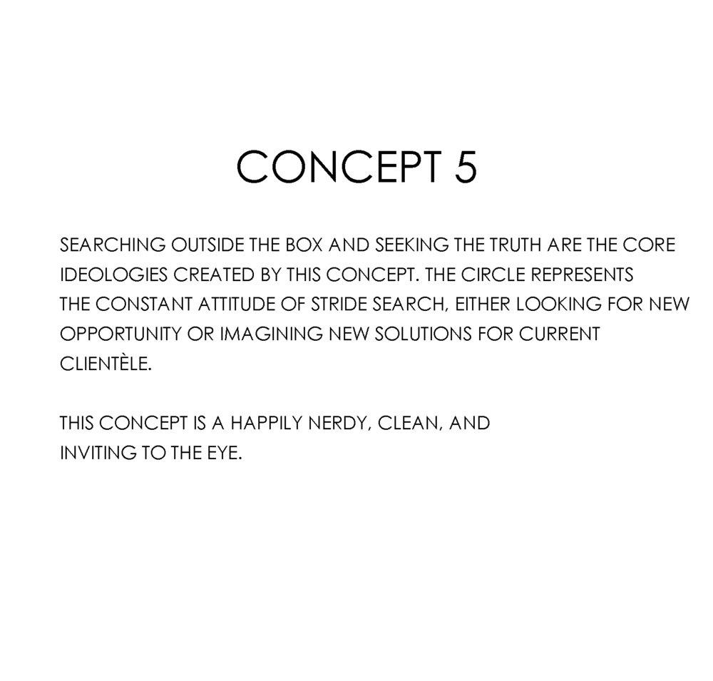 stride search concept 5 circle