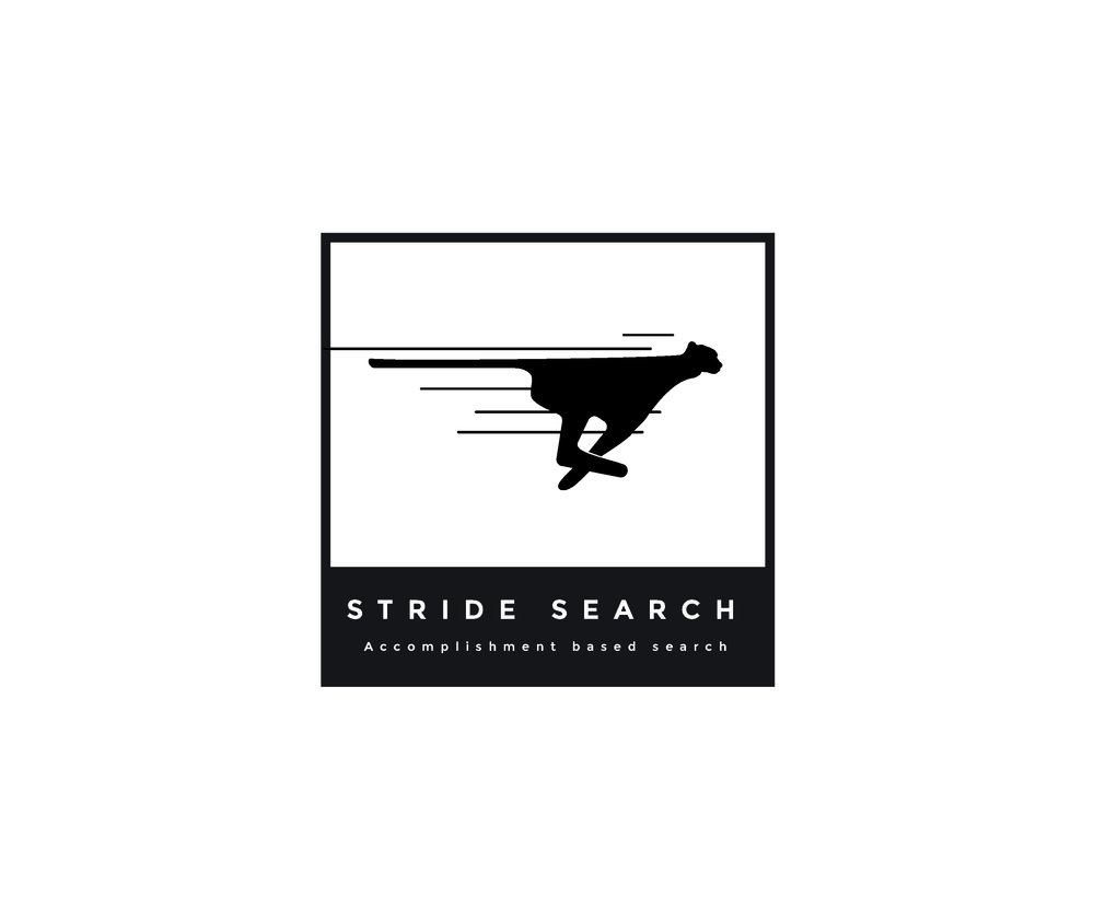 Stride Search identity logo concepts 2 cheetah modern lines