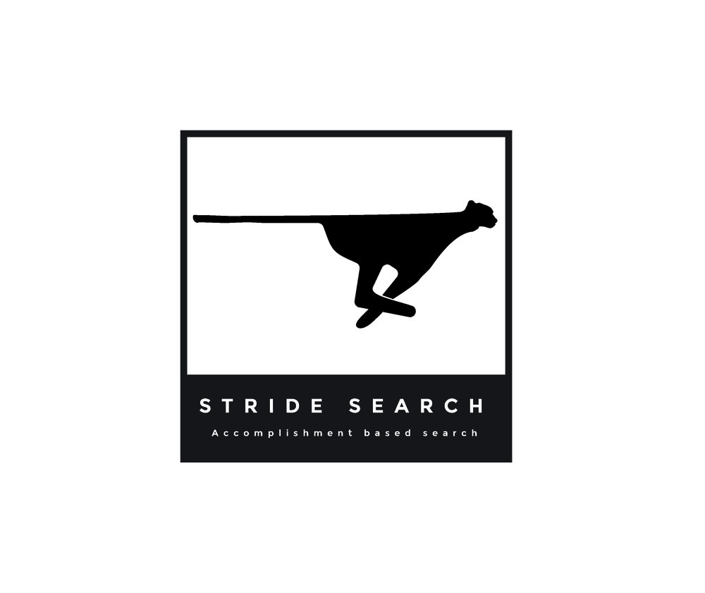 Stride Search identity logo concepts 2 cheetah modern