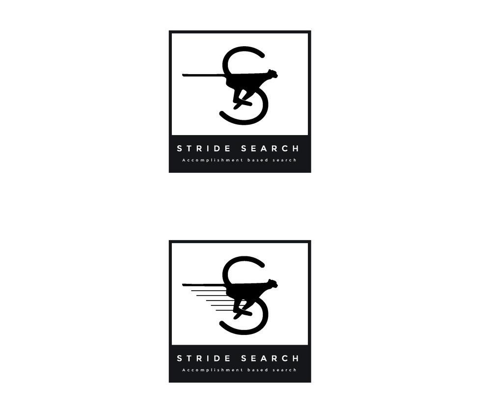Stride Search identity logo concept 2 cheetah square S