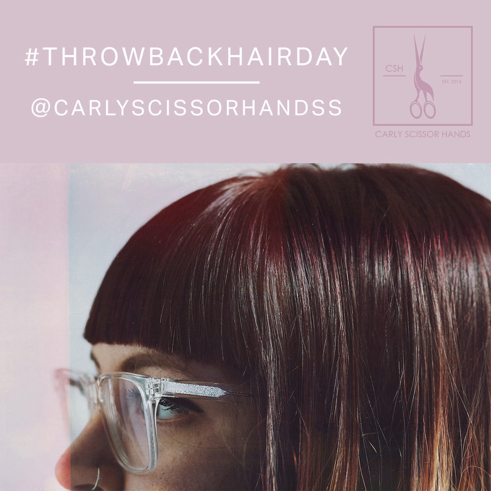ThrowBack Hair Day Instagram Campaign