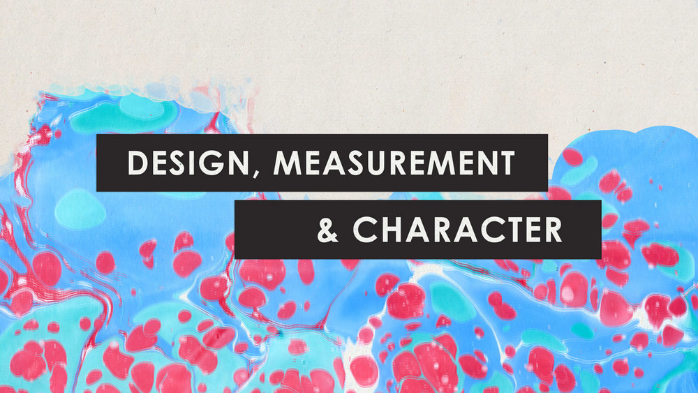 The Four is design, measurement, and character