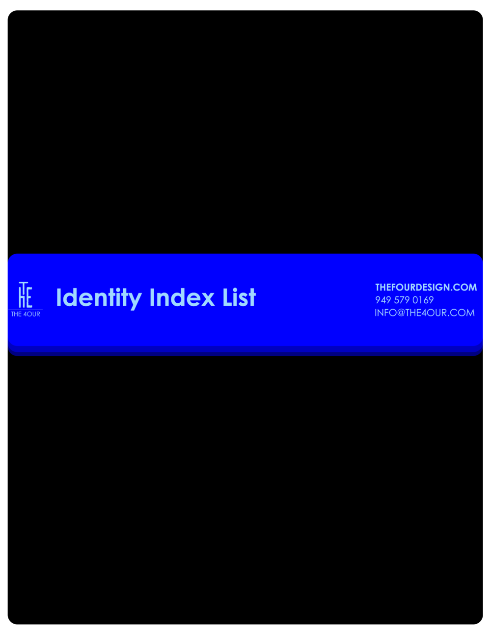 Identity Index List