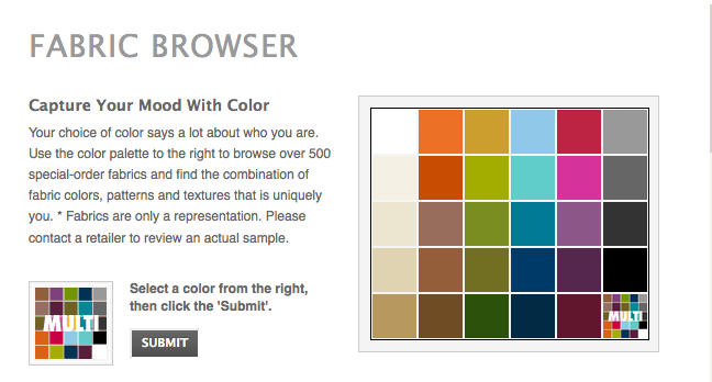 Rowe Fabric Browser