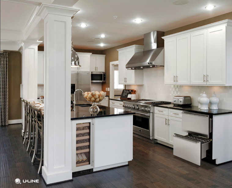 5 Trends for Home Kitchen Remodel U-line Appliances