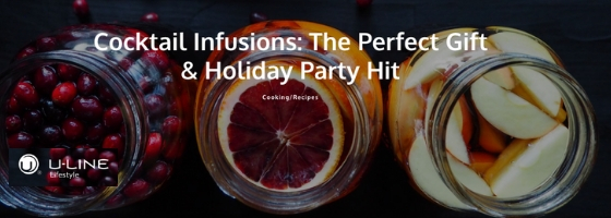Infused Cocktail Gifts for the Holiday