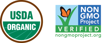 USDA Organic and Non-GMO Project Verified