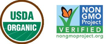 Organic and Non-GMO