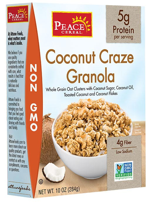 Coconut Craze Granola