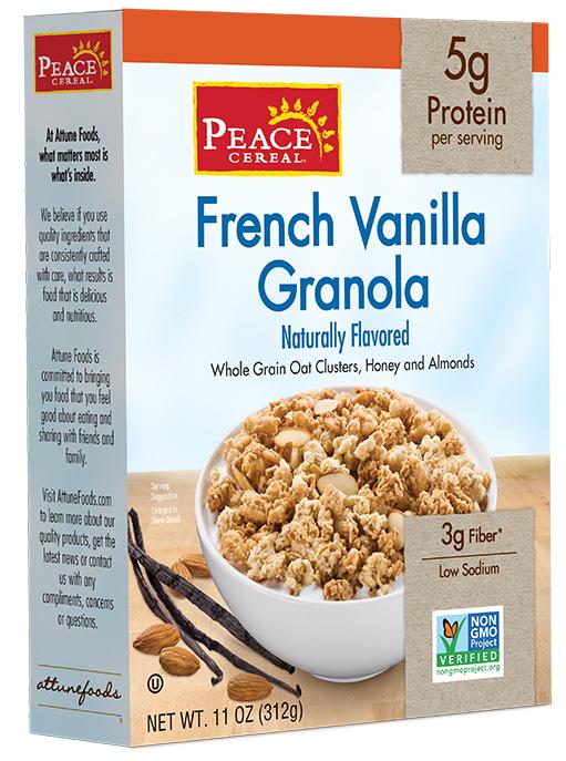 French Vanilla Granola
