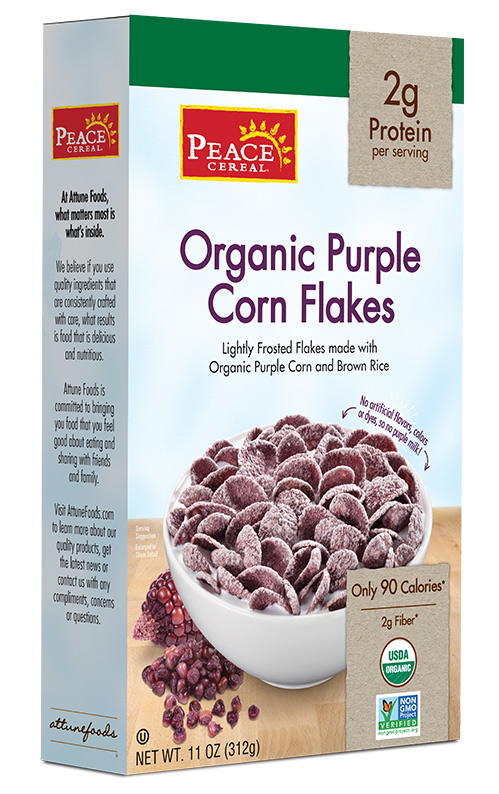 Purple Corn Flakes