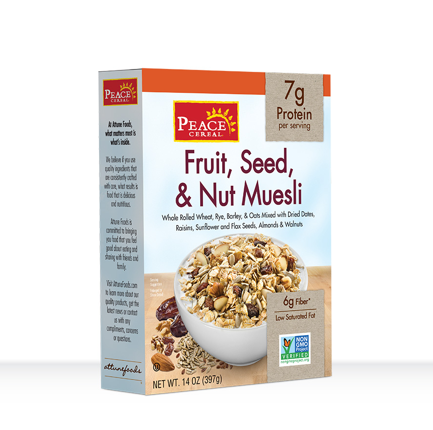 Fruit, Seed, & Nut Muesli
