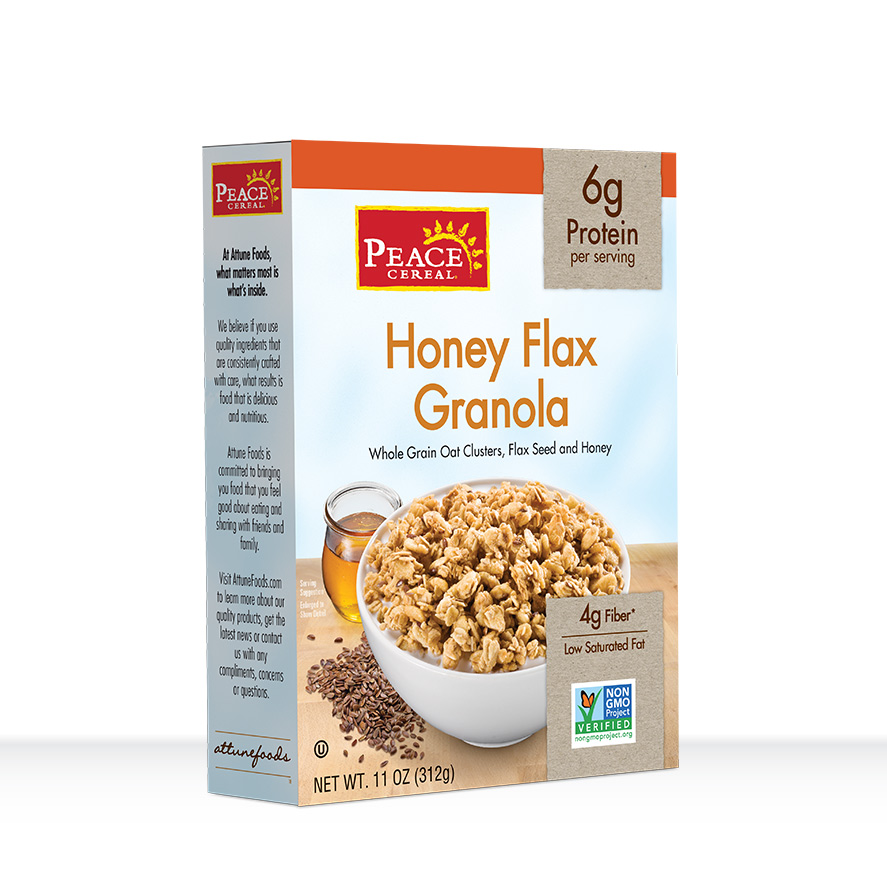 Honey Flax Granola