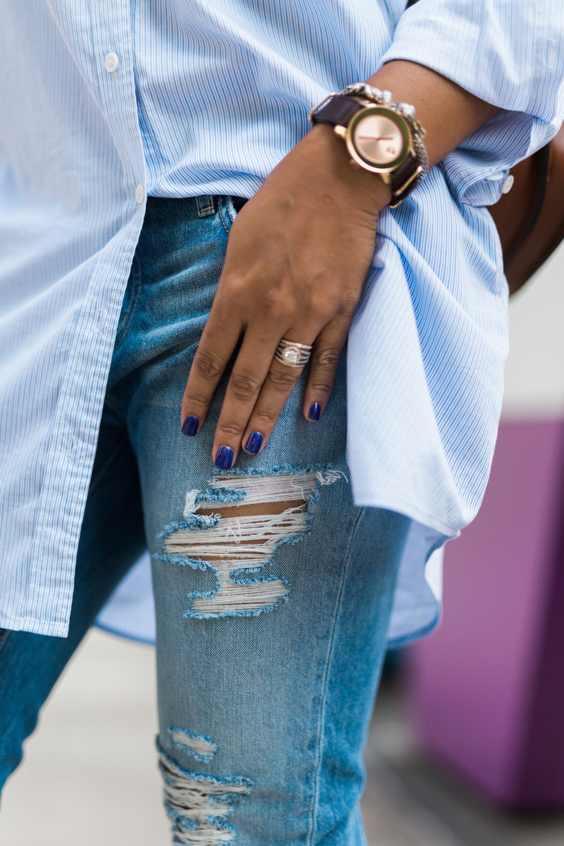 Cropped Distressed Jeans Available Here!