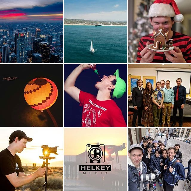 What a year 2018 was! There were ups, downs, joy, heartbreak, and pain but at the end of the day, It was a crazy challenging and awesome year. I had my best year to date with my video business and got to work all across the country from NYC to LA :) as well as getting an office space to run Helkey Media out of! I am so excited for another year of video shoots! THANK YOU to all the people that made my 2018 special!  2019 come at me! 🎆🎉😛