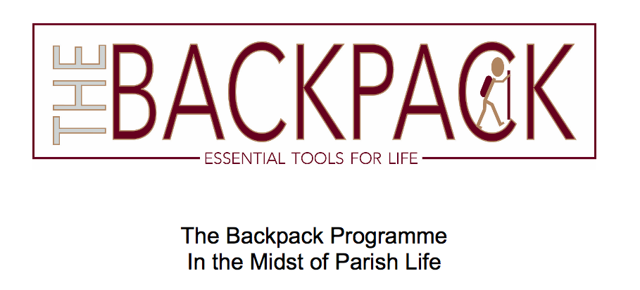 Click on the image to see a document  The Backpack Program In the Midst of Parish Life