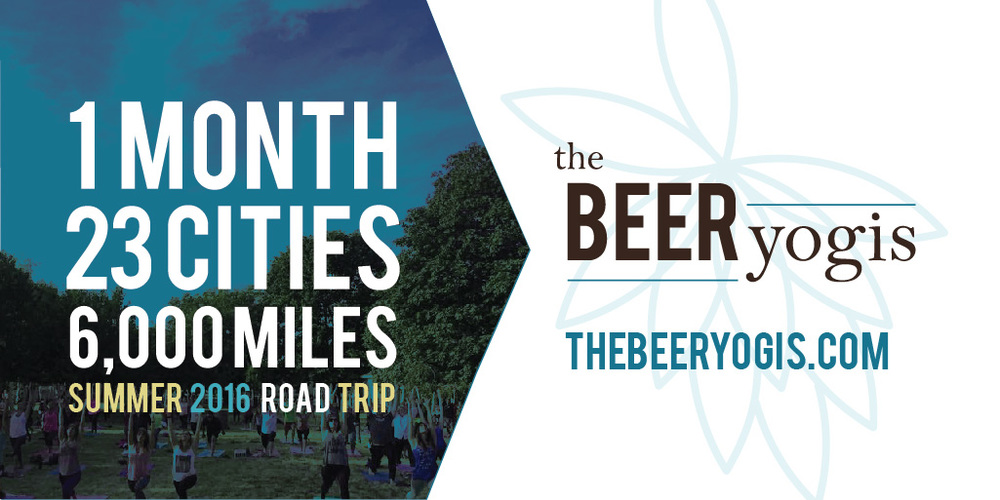#Yoga and #Beer tour by The Beer Yogi's! Read more #blogger @mindfulsami