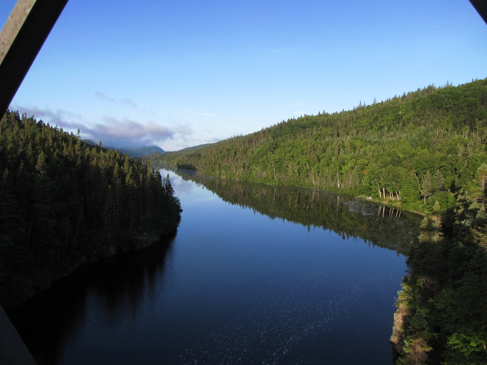 Beautiful Lloyds river at the South end of Red Indian Lake